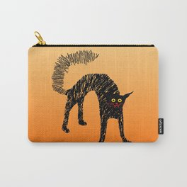Black Cat 01 Carry-All Pouch