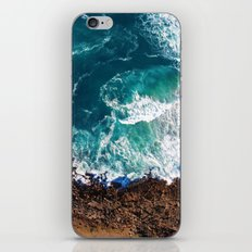 Waves on the Cliffs iPhone & iPod Skin