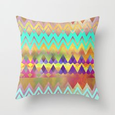 Lacy Camping Dreams  Throw Pillow