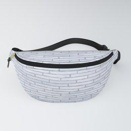White Brick Wall Fanny Pack