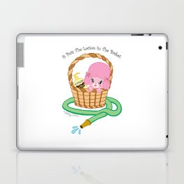 It puts the lotion in the basket. // Silence of the Lambs Laptop & iPad Skin