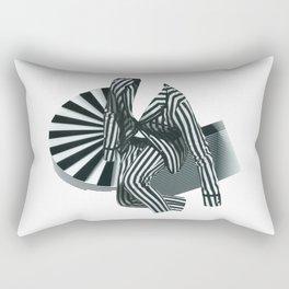 Mr. Zebra Rectangular Pillow