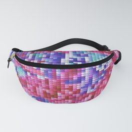 Carnation Cross Stitch Fanny Pack