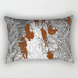 All Hallows Time Rectangular Pillow