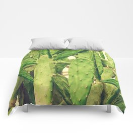 Southwest Desert Cactus Comforters