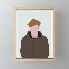 GEORGE EZRA Framed Mini Art Print