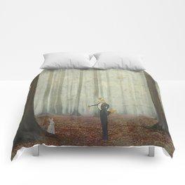 Fox and rabbit Comforters