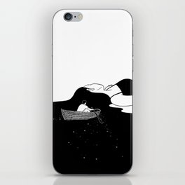 Rowing to you iPhone Skin