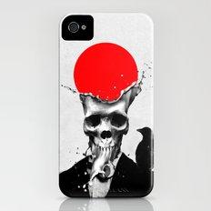 SPLASH SKULL iPhone (4, 4s) Slim Case