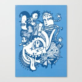 ILLOGICAL MADNESS Canvas Print