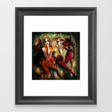 Twins 1 of 3 Framed Art Print