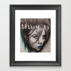 Eyes on you    BY.Davy Wong Framed Art Print