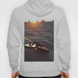 Flip Flops On The Beach Hoody