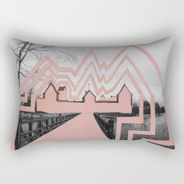 Trakai Castel- de-characterization Rectangular Pillow