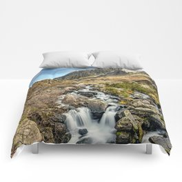 Tryfan and Ogwen Falls Comforters
