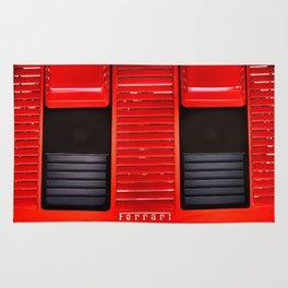 Ferrari hood Rug