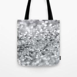 Silver Gray Lady Glitter #1 #shiny #decor #art #society6 Tote Bag