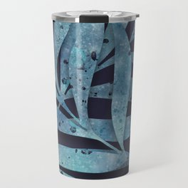 Watercolor Ferns Travel Mug