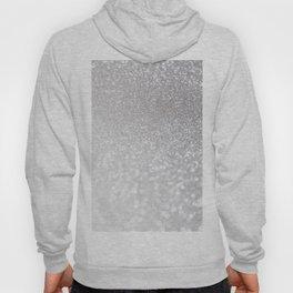 Silver ice - glitter effect- Luxury design Hoody