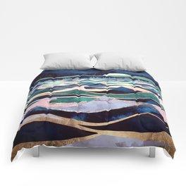 Moonlit Ocean Comforters
