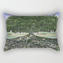 Really Rooted Rectangular Pillow