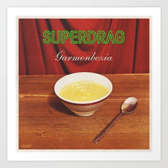 7 inch series: Superdrag - Garmonbozia Art Print