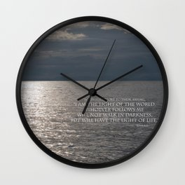 Light of the World Wall Clock