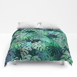 Monstera Monsters Comforters