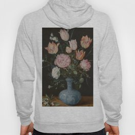 Flowers in a Wan-Li Vase - Jan Brueghel the Elder (1610-1615) Hoody