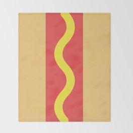 HotDog Throw Blanket
