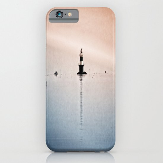 Fishing Near The Lighthouse iPhone & iPod Case
