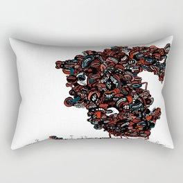 The chattering class  -alt Rectangular Pillow