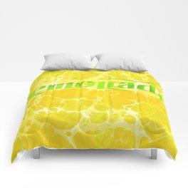 Fresh Lemonade - Abstract Digital Arwork Comforters
