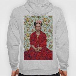 Flowers Frida Kahlo VIII Hoody