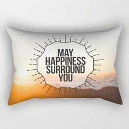 May Happiness Surround You Rectangular Pillow