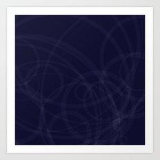Circles galore Art Print