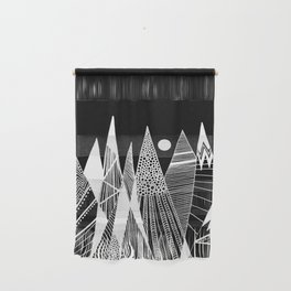 Patterns in the mountains Wall Hanging