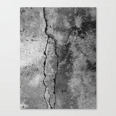 Broken Stone Texture Canvas Print