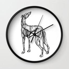 Whippet Wall Clock
