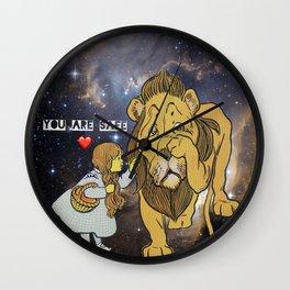 It's Okay To Be Big Wall Clock