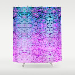 Melted Wizard Shower Curtain