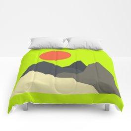 Caustic Crimson Comforters