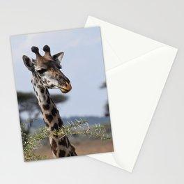 Serengeti Giraffe I Stationery Cards