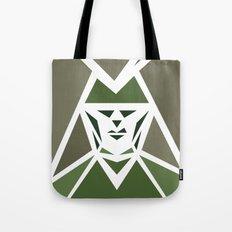Five Triangle Faces - The Hunter Tote Bag