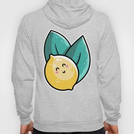 Kawaii Cute Lemon and Leaves Hoody