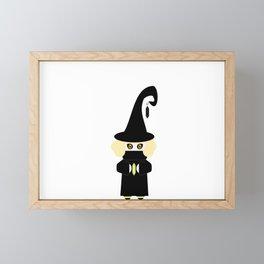 Little Witch Framed Mini Art Print