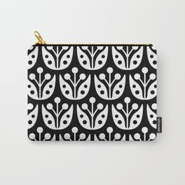 Mid Century Flower Pattern 7 Carry-All Pouch