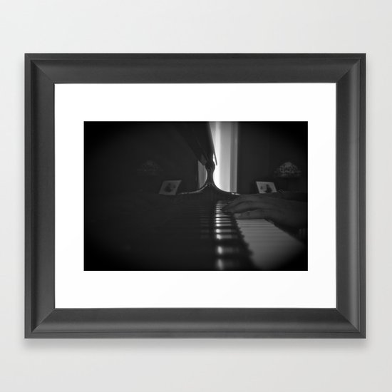 C Major Chord Framed Art Print