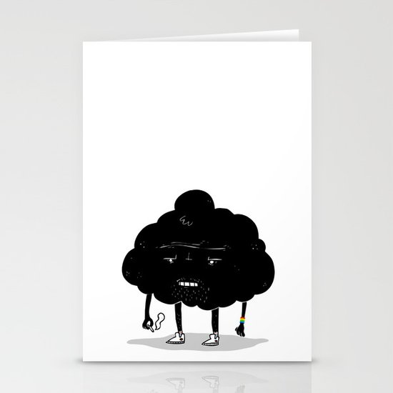 Mr. Optimistic Stationery Cards