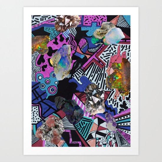 RADICAL ▲  SYNTHIA  Art Print